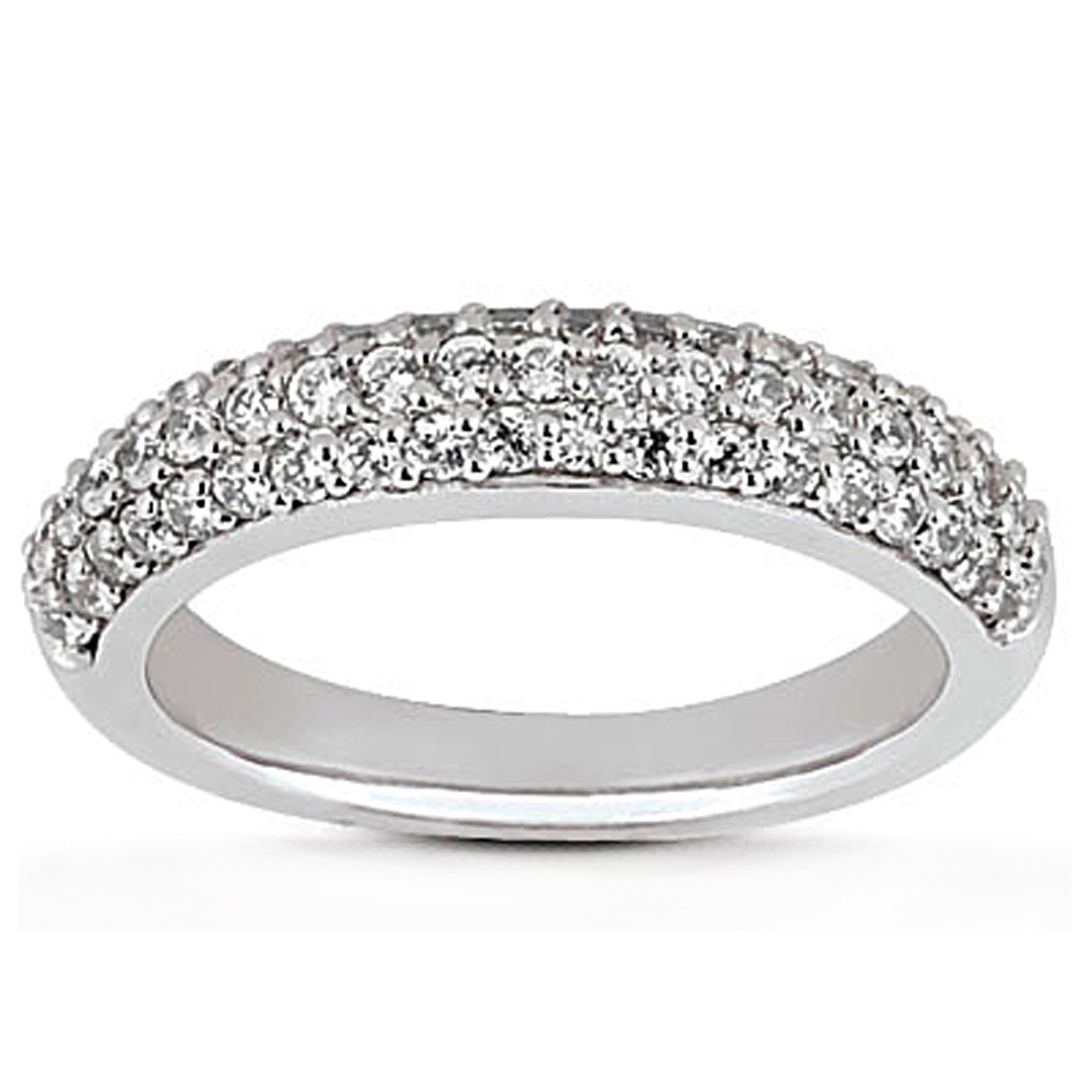 brilliant micro pave round multiple ring page wedding pi ringspotters rings with band engagement